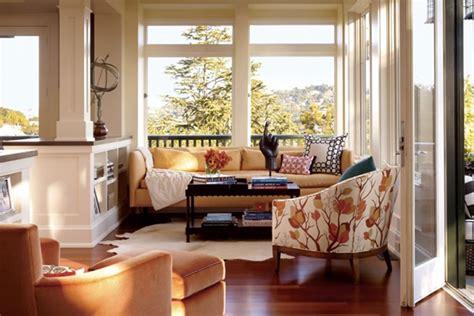 Beautiful And Stylish Sunroom Interior Design Of The