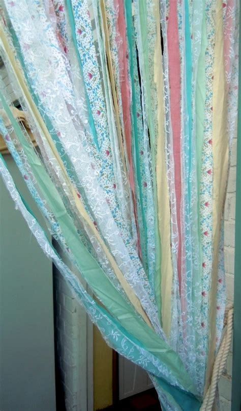 best 25 fabric strip curtains ideas on pinterest scrap