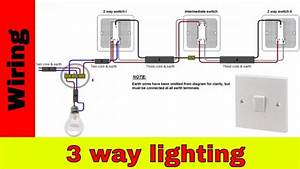 Complex Intermediate Switch Wiring Diagram Nz How To Wire 3-way Lighting Circuit - Youtube