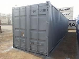 40 Fuß Container In Meter : 40 fuss see lagercontainer gebraucht neu lackiert ~ Whattoseeinmadrid.com Haus und Dekorationen