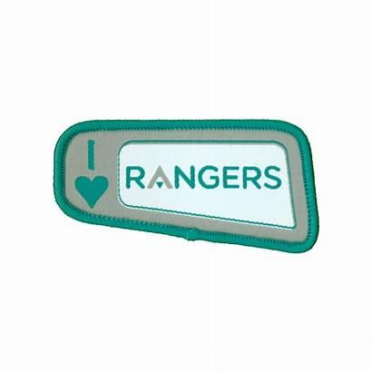 Rangers Badge Woven Girlguiding Badges Programme
