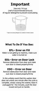 Coin Operated Front Load Washer  U0026 Dryer Instructions