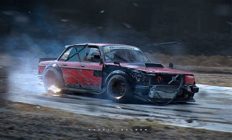 Khyzyl Saleem, Car, Volvo 240 Wallpapers Hd / Desktop And