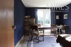 Chambre Bleu Nuit : chambre bleu nuit avec bureau c1541 mires paris ~ Melissatoandfro.com Idées de Décoration