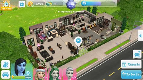 sims mobile house build   proud