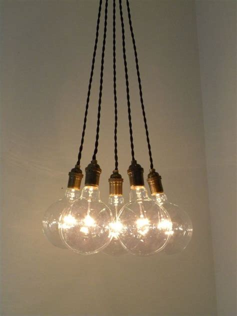 5 pendant light cluster hanging pendant light