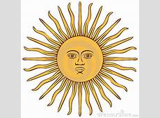 Sun Of Argentina Flag Stock Image Image 17942481
