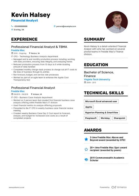 Financial Analyst Resume Template Free by Financial Analyst Resume Exle And Guide For 2019