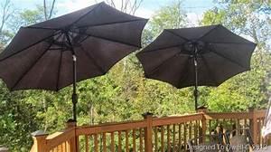 Deck Mounted Umbrellas