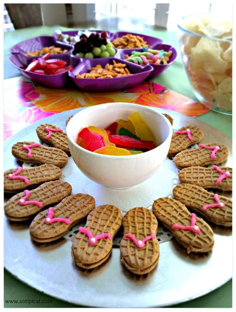 Ideas For Halloween Finger Foods by Luau Birthday Party For Kids