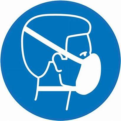 Masque Protection Porter Obligation Panneau Respiratoire Richtlijnen