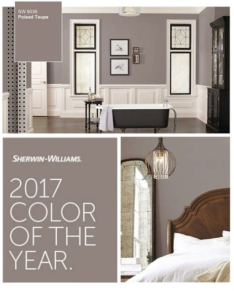 sherwin williams poised taupe ideas  pinterest bedroom paint colors house paint