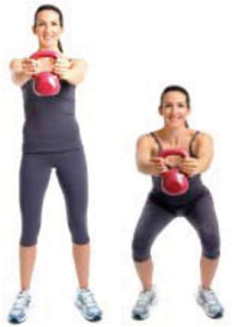 kettlebell body workout sheknows routines