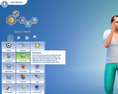 corner media center mod the sims borderline personality disorder custom