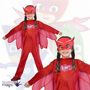 PJ Masks Owlette Cartoon Superhero Kids Childrens Fancy ...