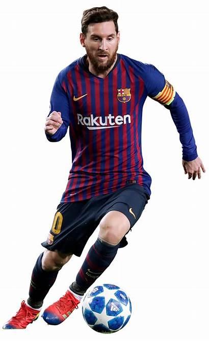 Messi Lionel Render Barcelona Footyrenders