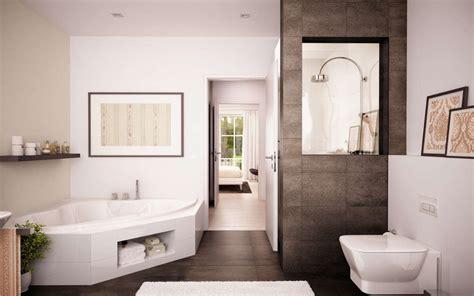 Einzigartig Sandfarbene Badezimmer Badezimmer Bad Mit Wanne Bad Mit Dusche