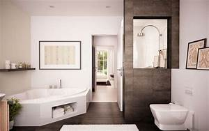 Badezimmer Modern Bilder : badezimmer bad mit wanne bad mit dusche ~ Sanjose-hotels-ca.com Haus und Dekorationen
