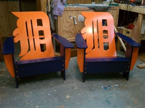 detroit tigers chairs want these for my deck detroit