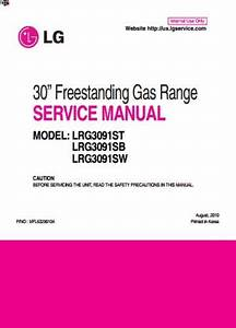 Free Download 30 Freestanding Gas Range Service Manual Book