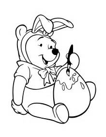 Winnie the Pooh Bear Coloring Pages