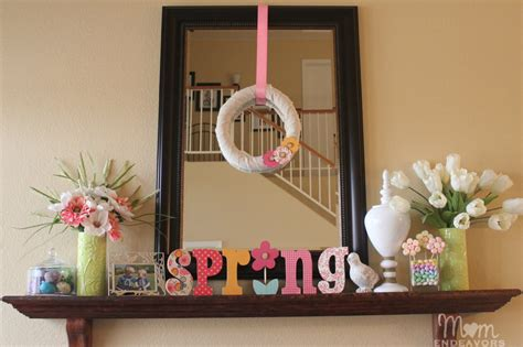 Simple Diy Spring Wreath & Decor #lowescreator