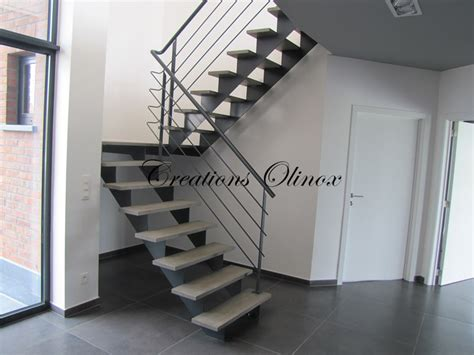 escalier metal et bois photos de conception de maison
