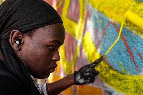 Meet Dieynaba, Senegal's First Female Graffiti