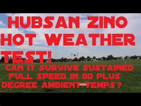 hubsan zino hot weather full speed flight test flying fast  quadcopter source