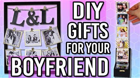 diy gift ideas   boyfriend husband thoughtful diy