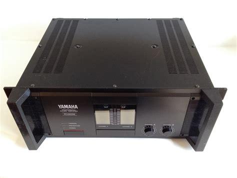 fs yamaha professional pc2602m stereo power lifier