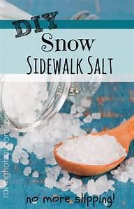 Diy Snow Sidewalk Salt