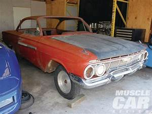 1961 Chevy Impala SS and 1971 Ford Mach 1 Mustang - Garage Finds - Hot Rod Network