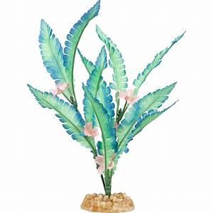 Imagitarium Aqua Bloom Silk Aquarium Plant Petco