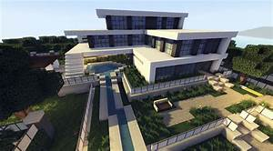 MINECRAFT: How To build A Modern House / Best modern House