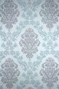 shabby chic damask wallpaper