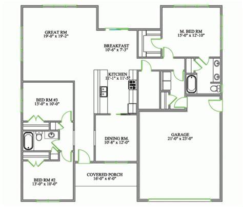 3 bed bungalow floor plans best 4 bedroom bungalow house plans in philippines arts 3