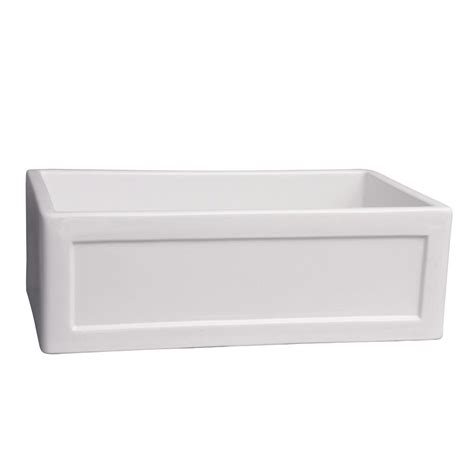 barclay sinks kitchen barclay products ellyce farmer sink fireclay 29 in 0 1482