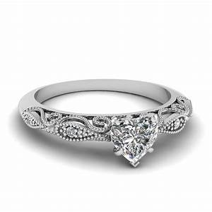 heart shaped engagement rings fascinating diamonds With heart diamond wedding rings