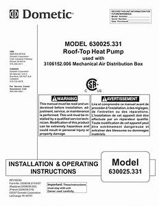 46 Dometic Awning Installation Instructions