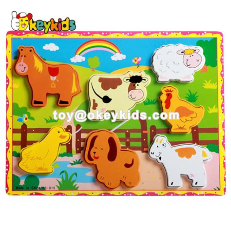 zoo wooden toys animal educational hottest