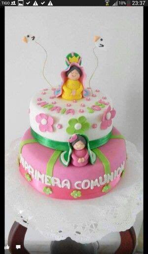 Torta virgen de guadalupe primera comunion Pinterest
