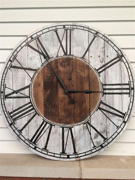 40580 farmhouse wall clock best 25 farmhouse wall clocks ideas on barn