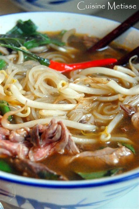 cuisine vietnamienne pho phô au boeuf soupe vietnamienne cuisine metisse