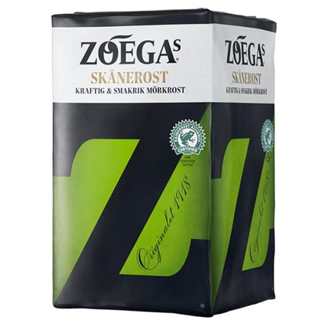 This makes it suitable for many types of projects. Zoégas Skånerost ground coffee 450g - DeliCo - Coffee Online