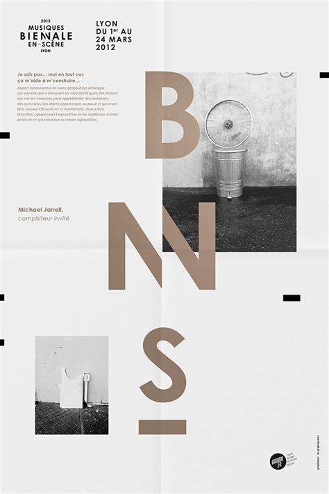les design a poser graphic design studio in biennale musiques en sc 232 ne 2012 identity les graphiquants