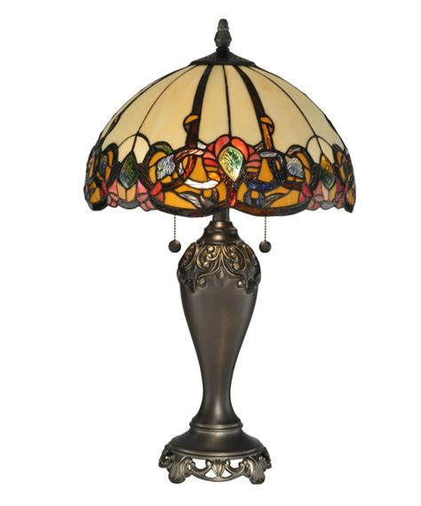 Dale Tiffany TT90235 2 Light Northlake Table Lamp In