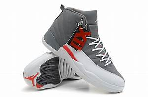 Air Jordan 12 Retro Cool Grey Total Orange White Online