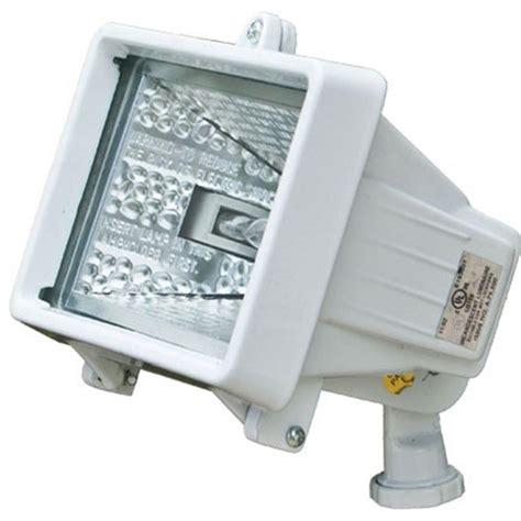 filament design adrien 1 light white outdoor flood light