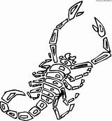 Scorpion Coloring Pages Printable Scorpions Animals Preschool Drawing Cartoon Desert Animal Supercoloring Worksheets Crafts Giant Getcoloringpages Getdrawings Silhouettes sketch template